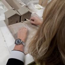 huisjes maken van keramiek