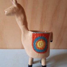 kameel cursist aardewerk en onderglazuur