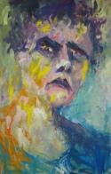 schilderen buitenkunsten portret zelf kwelling